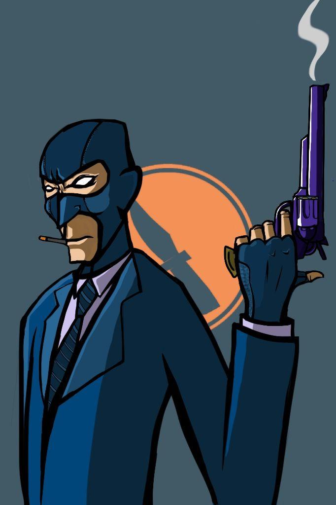I Drew Blue Spy On Ipod Team Fortress 2 Team Fortress Team