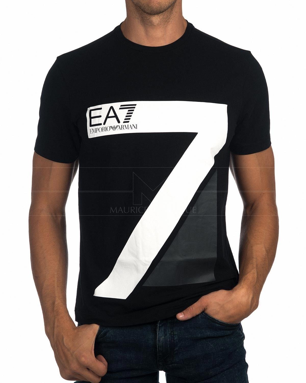 a1c4645918 T Shirt EA7 Emporio Armani - White Premium Logo in 2019 | 2018-02 ...