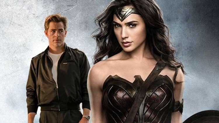 Revealed The Mystery Man In Wonder Woman 1984 Wonder Woman Women Steve Trevor
