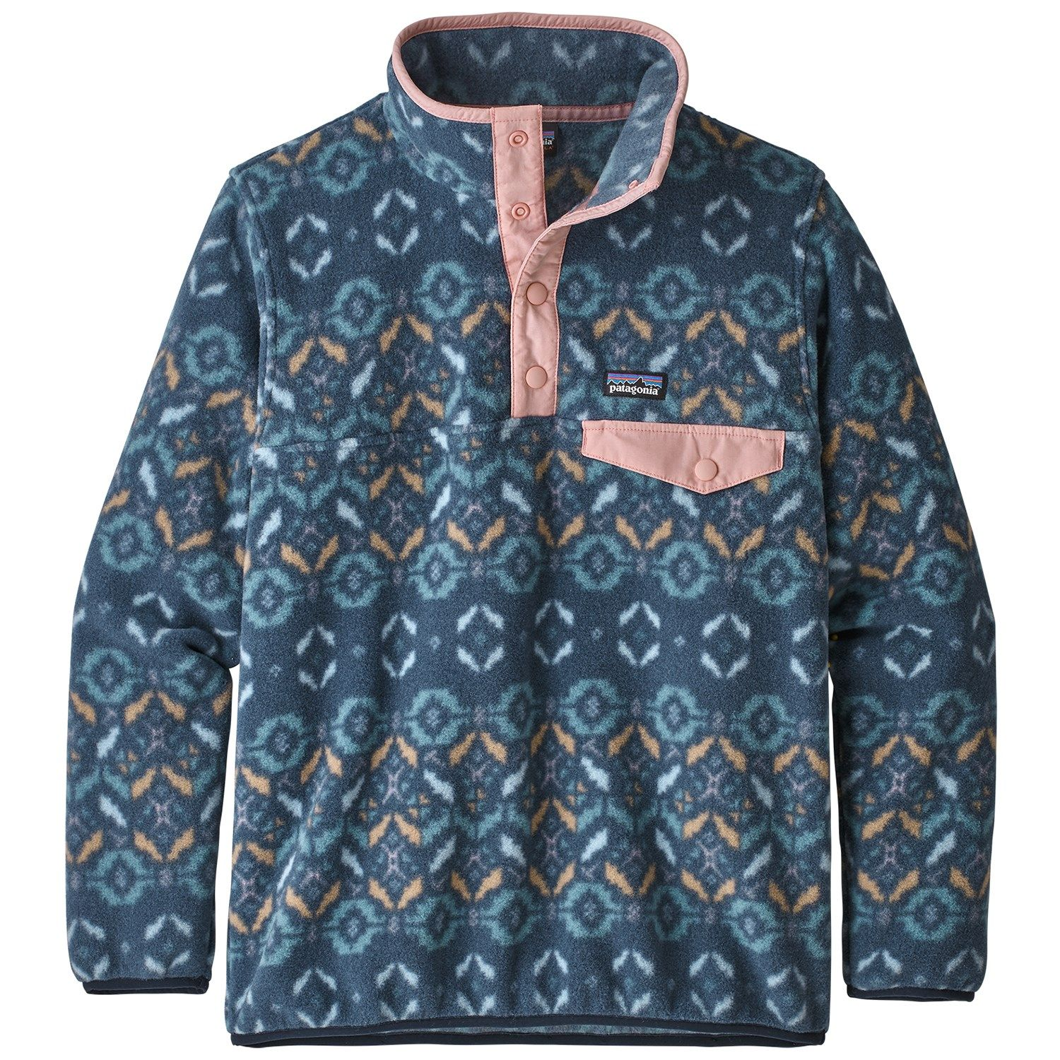 Patagonia Lightweight Synchilla Snap T Pullover Fleece Girls Fleece Pullover Girls Jacket Fleece Jacket