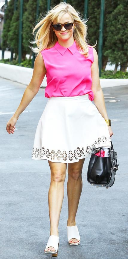 Street Style File: Reese Witherspoon | InStyle.com