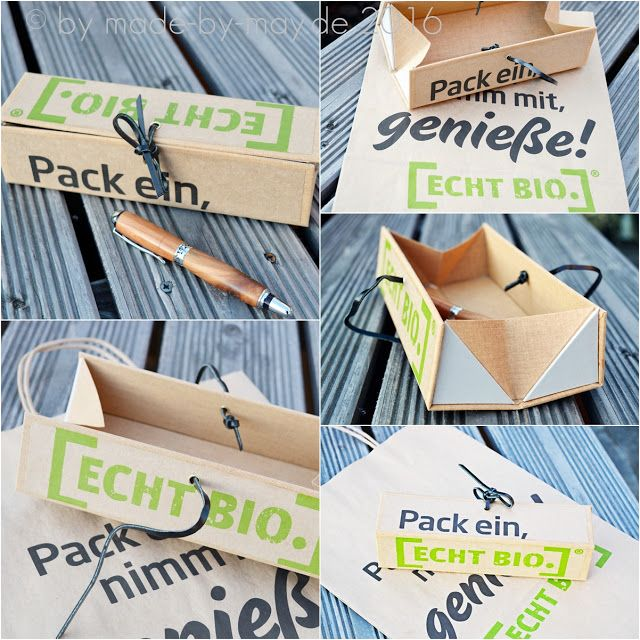 made by may stifteetui mit t te upcycling arbeiten pinterest upcycling verpackung und. Black Bedroom Furniture Sets. Home Design Ideas