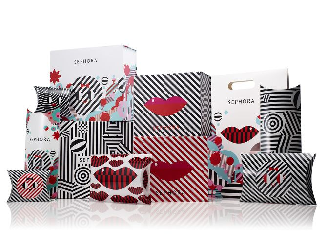 Sephora holiday 2014 #packaging via @dcwdesign blog