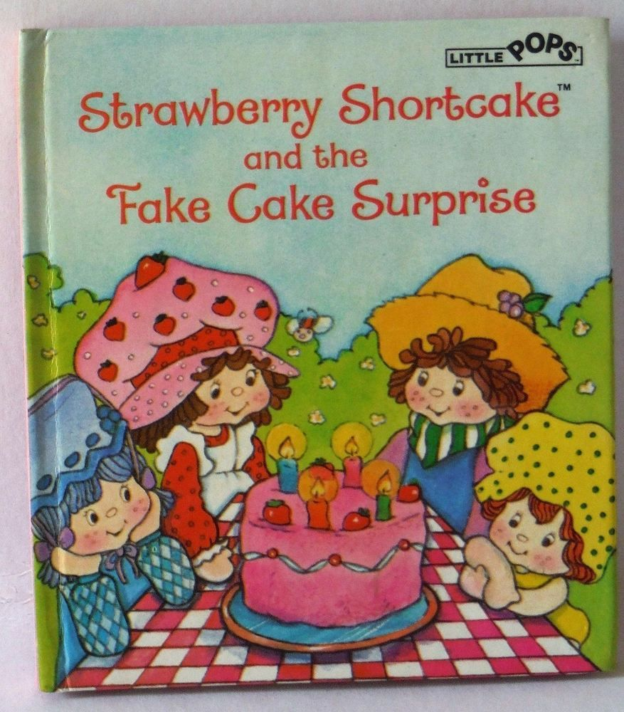 Strawberry Shortcake and the Fake Cake Surprise Thomas Jacobs Mini ...