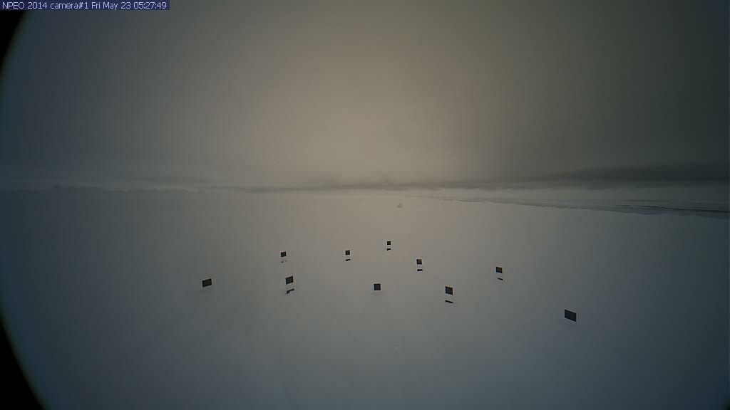 Npeo 2014 web cameras observatory north pole outdoor