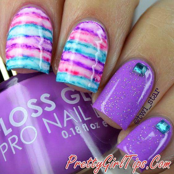 Prettygirltips Sharpie Nail Art Design Acrylic Nail Art Designs