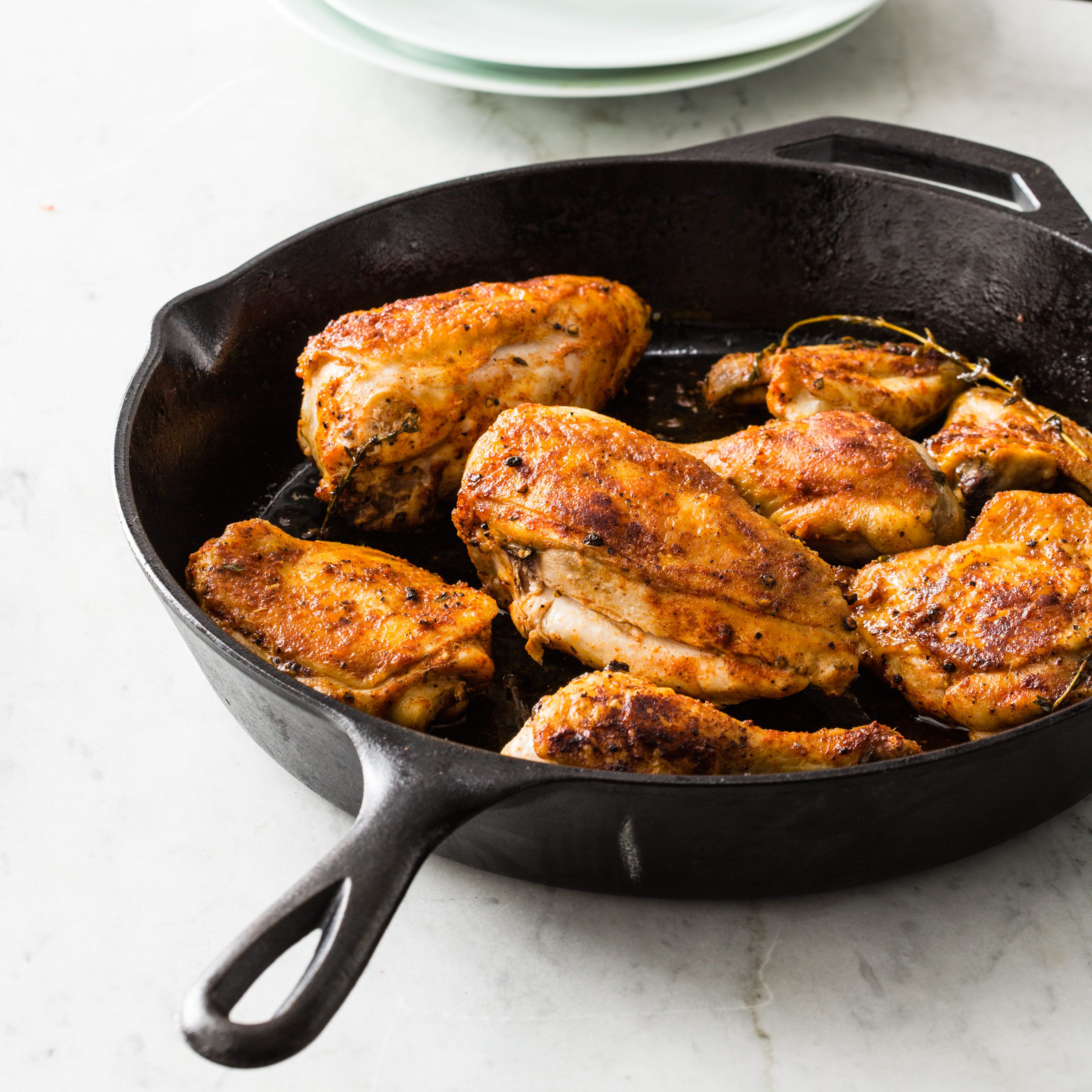 Could A Cast Iron Skillet Help Our Pursuit Of Juicy Meat And Lovely Brown Skin Cooks Country