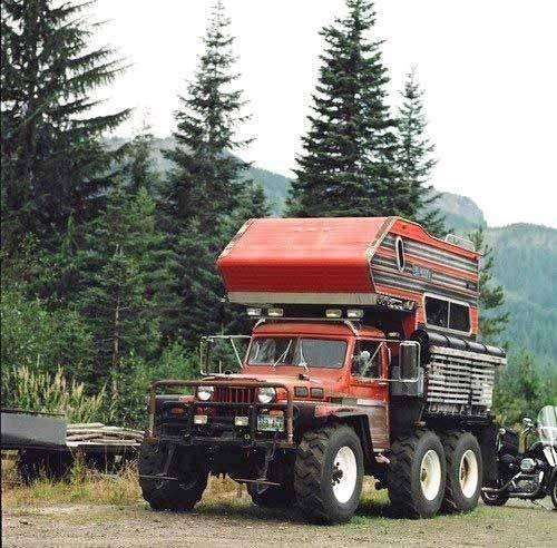 My Ride When The Zombie Apocalypse Comes This Truck Camper Is Based On A Willys Jeep Converted To At Some Point During Its Lifetime