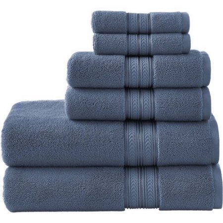 Better Homes And Gardens Thick And Plush 6 Piece Bath Towel Set