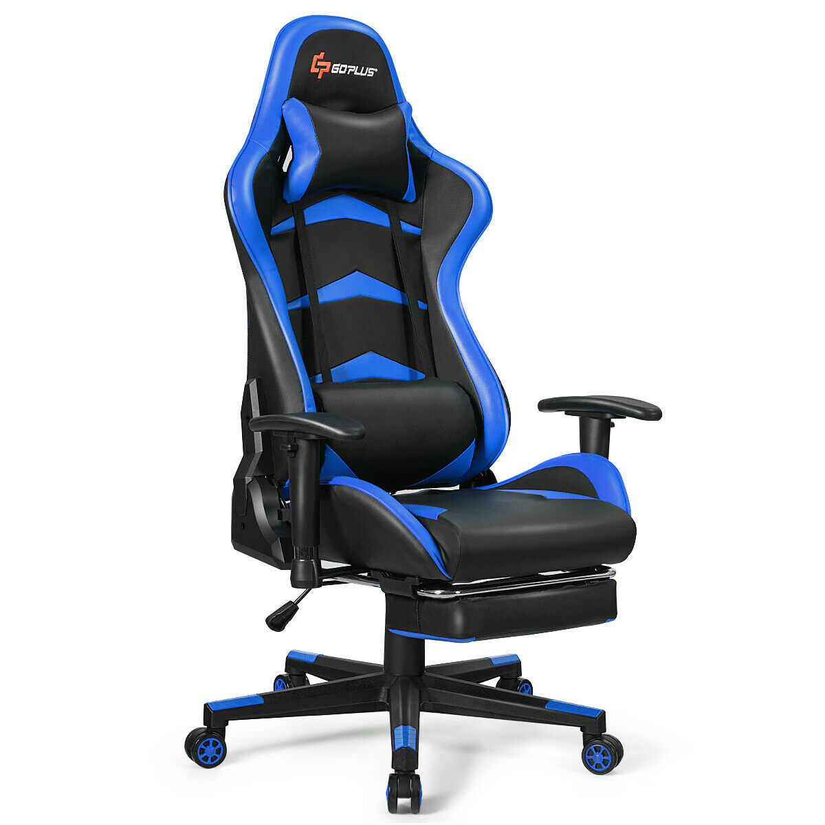 Price 209 59 Massage Gaming Chair Reclining Racing Office Chair W Lumbar Support Gaming Chair Lumbar Support Racing Chair