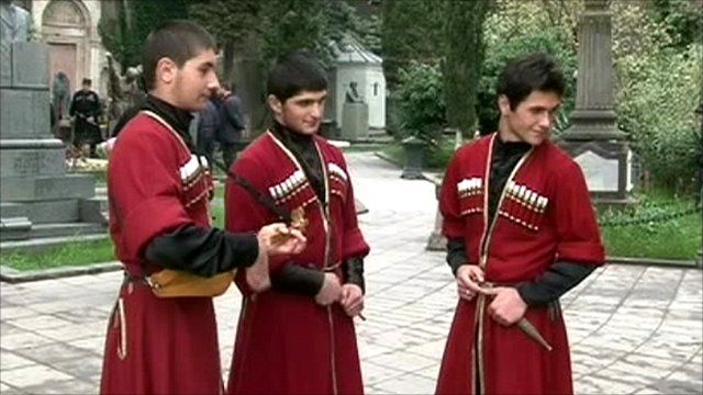 Georgian chokhas