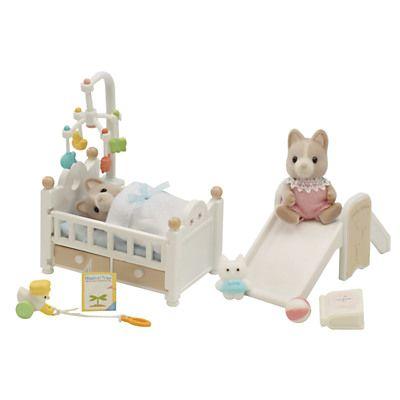 Sylvanian Families Tailbury Family Babies At Home Set 3 3
