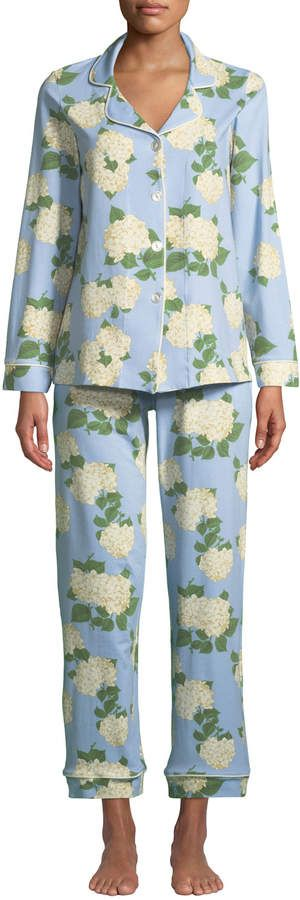 df99d3a8ac11 BedHead Hydrangea Classic Pajama Set  Hydrangea BedHead Classic ...