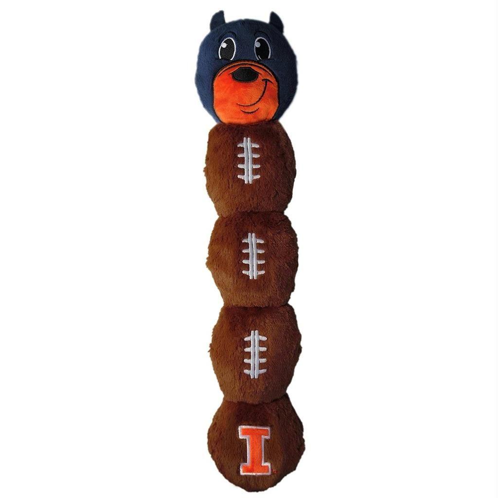 Illinois Fighting Illini Pet Mascot Toy Illinois
