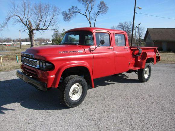1960 Dodge Power Wagon W100 Quad Cab Dodge Power Wagon Power
