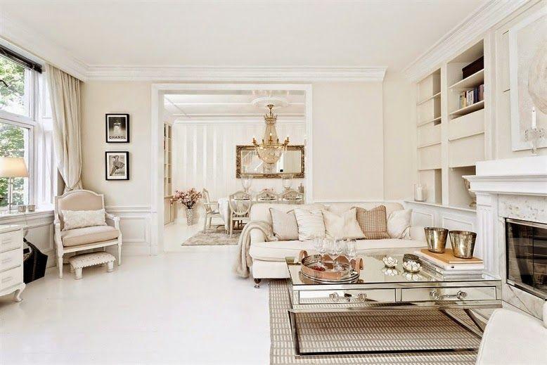 un piso con un estilo muy cl sico los blancos decorar