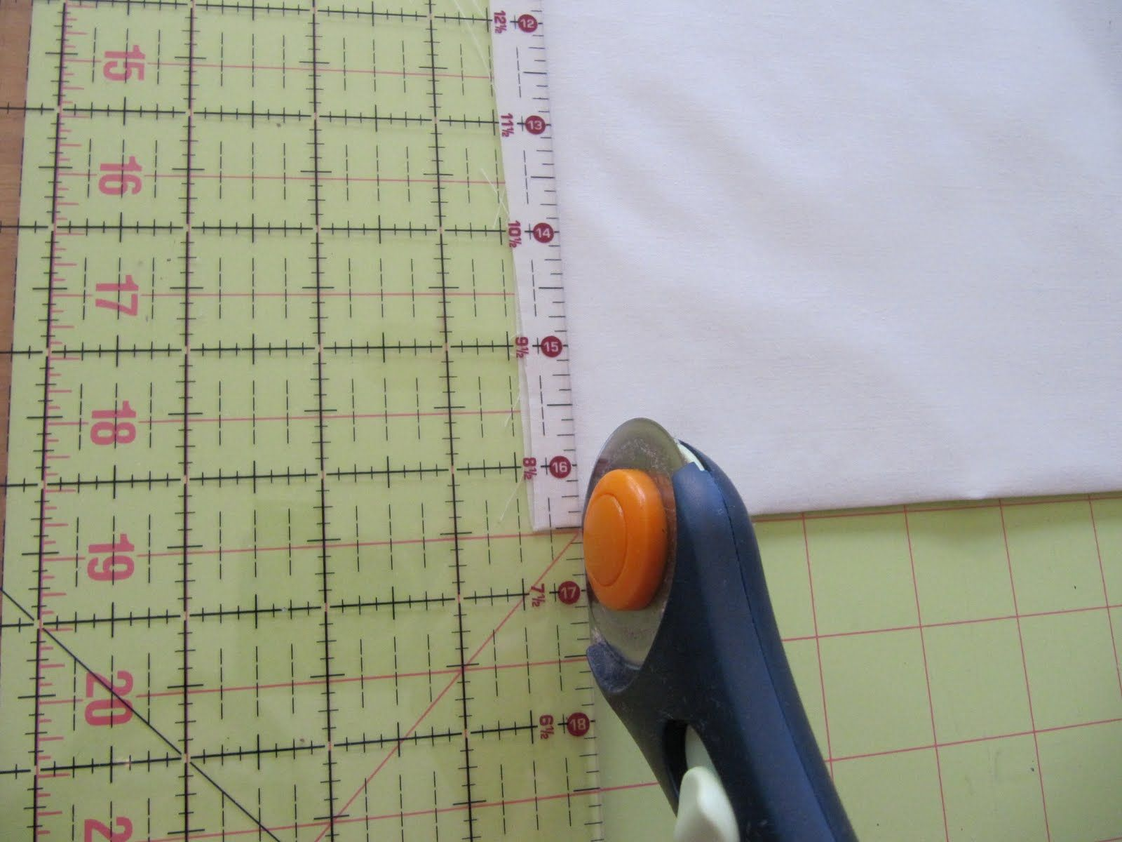Thought I would do a post on how to cut fabric squares with a ... : cutting fabric for quilting - Adamdwight.com