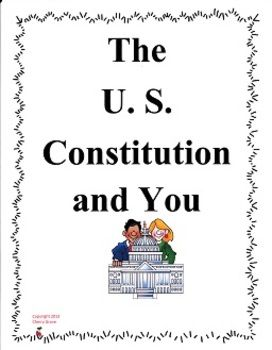 The U. S. Constitution and You by Syl Sobel Imagine It