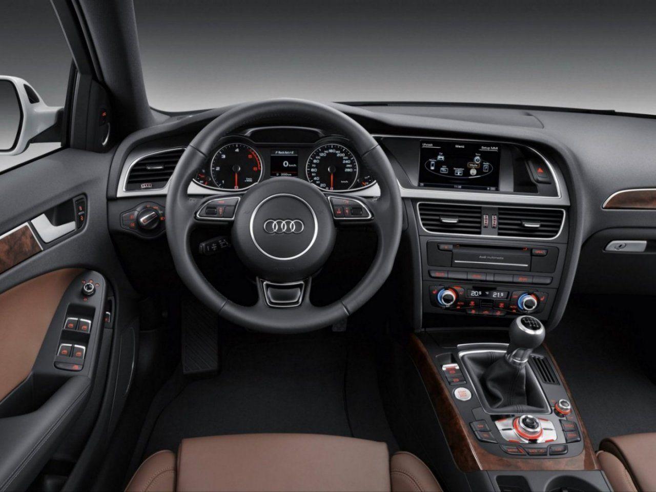 2012 Audi A4 Avant Dashboard Car Interior Steering Wheel Wallpapers Audi A4 Avant Audi A4 Audi