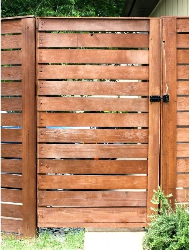Learn How To Build A Wood Slat Garden Gate In Weekend Horizontal Fence Kit  | Wooden Fence U0026 Gates In 2018 | Pinterest | Fence, Fence Gate And Diy Fence