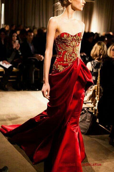 Russian Evening Dress