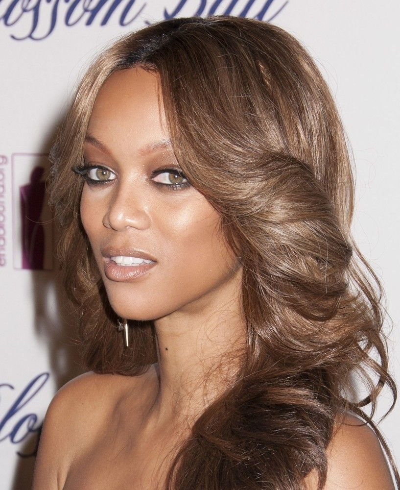Tyra Banks Updo: Ingeniously Talented Tyra Banks ... Magnificent Hairstyles