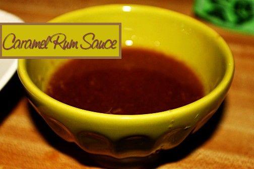 Caramel Rum Sauce