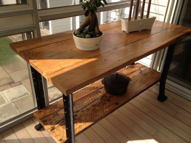 Ilot de cuisine ou autre utilisation style industriel mobilier de salle à manger et cuisine