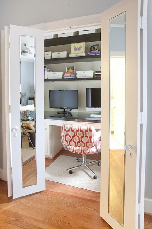 diy closet office closet reading nook easy creative steps to diy closet office from organizing and decorating customizing your home office who says you need lot of space organized