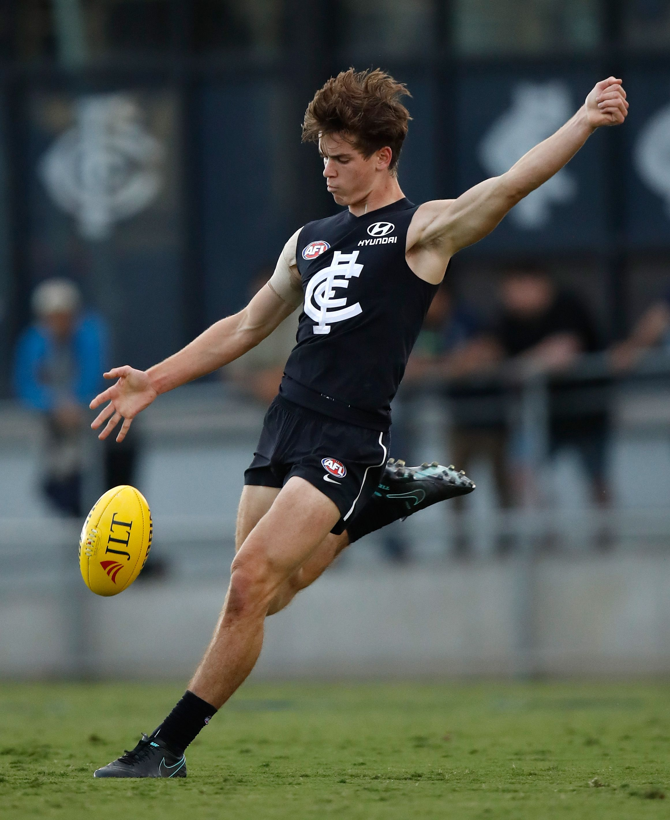 CARLTON has confirmed that top draft pick Paddy Dow will