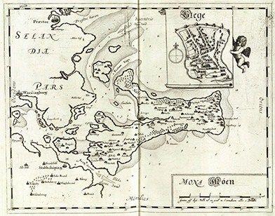 Resens Kort Over Mon Med Bogo Renaessancen Fiskeri Historie