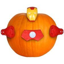 Pumpkin Push-In Kit - Iron Man