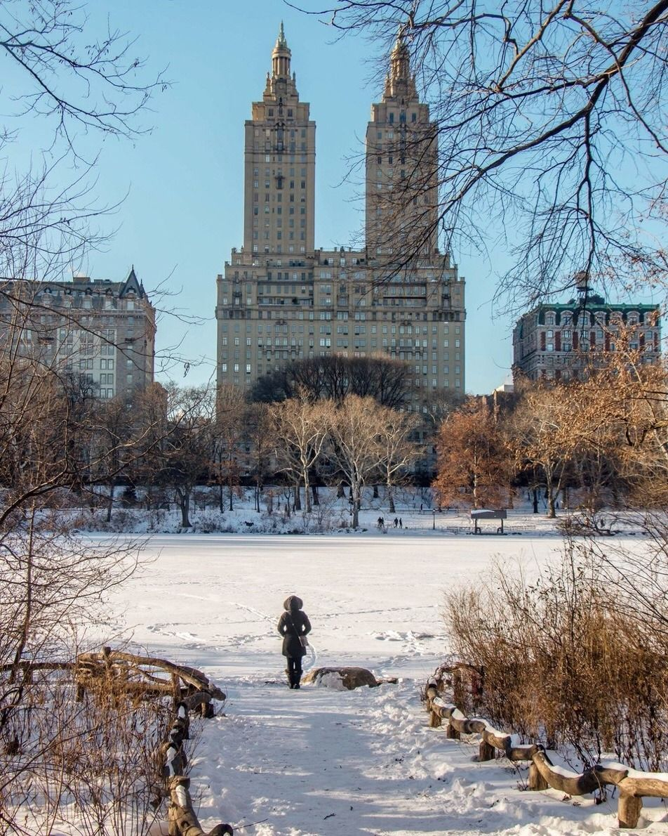 San Remo Apartments As Seen From Central Park By Kelly