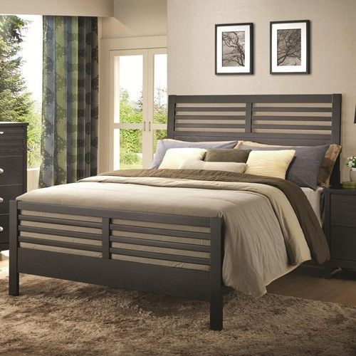 Coaster Richmond Queen Slat Bed - Black 202721QCOS Shop Furniture