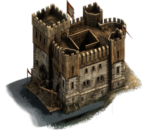 Small Medieval Wooden Keep