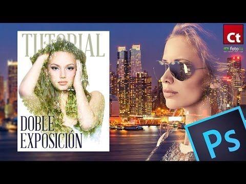 Tutorial Photoshop // Doble exposición vía @Rafael Tuduri
