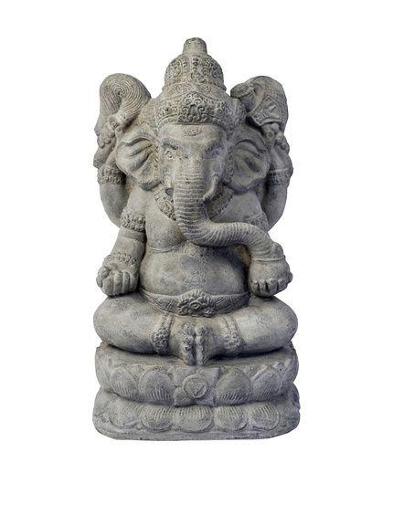 My Spirit Garden Stonewashed Volcanic Ash Powerful Ganesha, http ...