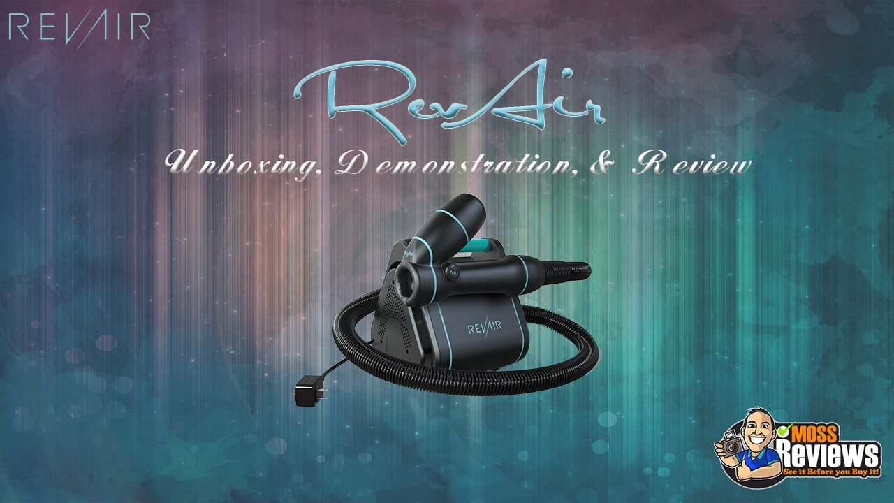 RevAir Reverse Air Dryer Unboxing, Demonstration, and