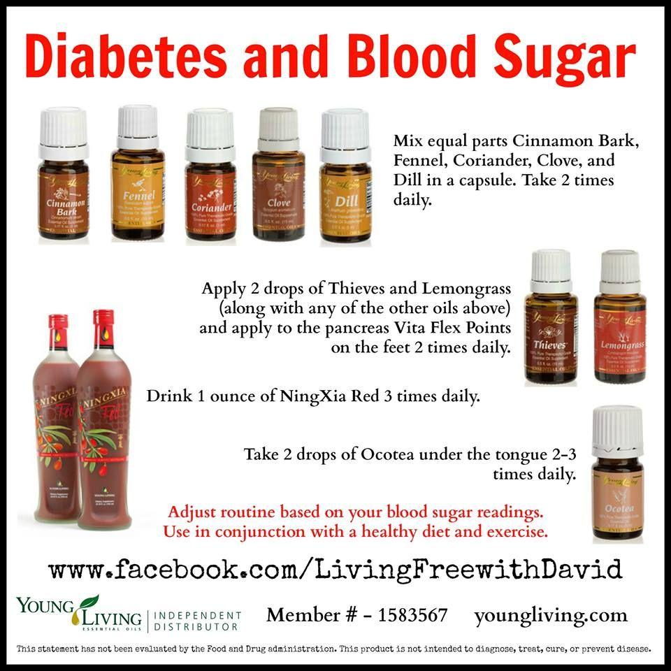 for diabetes essential oil