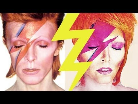 Hi My Twinkle Stars Heres A Much Requested Ziggy Stardust David Bowie Tutorial Long Before Ziggy Stardust Ziggy Stardust Makeup David Bowie Ziggy Stardust