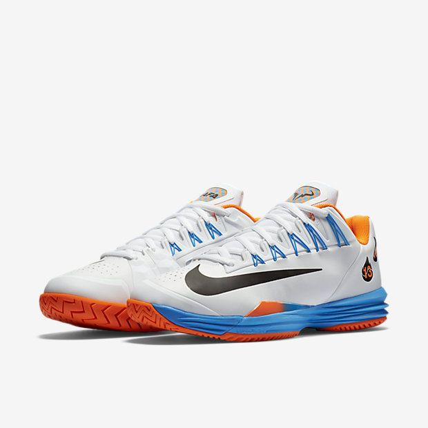 609b34ff0e1d Nike Lunar Ballistec 1.5 LG Legend Mens Tennis Shoes 12.5 White 812939 108  RAFA  Nike  Tennis