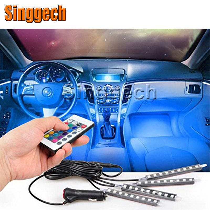 7Colors Car LED Interior Light With Remote Control For Nissan ...