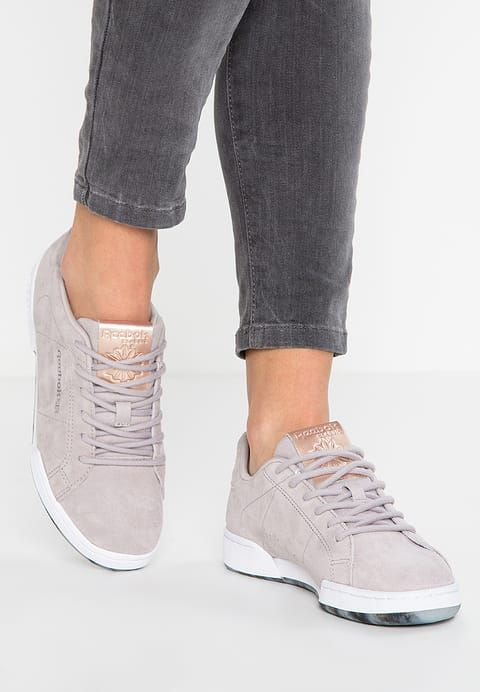 NPC II NE MET - Sneaker low - grey/white/rose gold