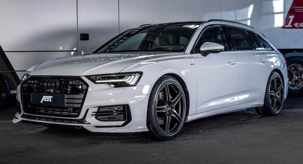 Glacier White Audi A6 Avant 3 0l Diesel Gets 325 Hp Upgrade By Abt Audi A6 Avant Audi A6 A6 Avant