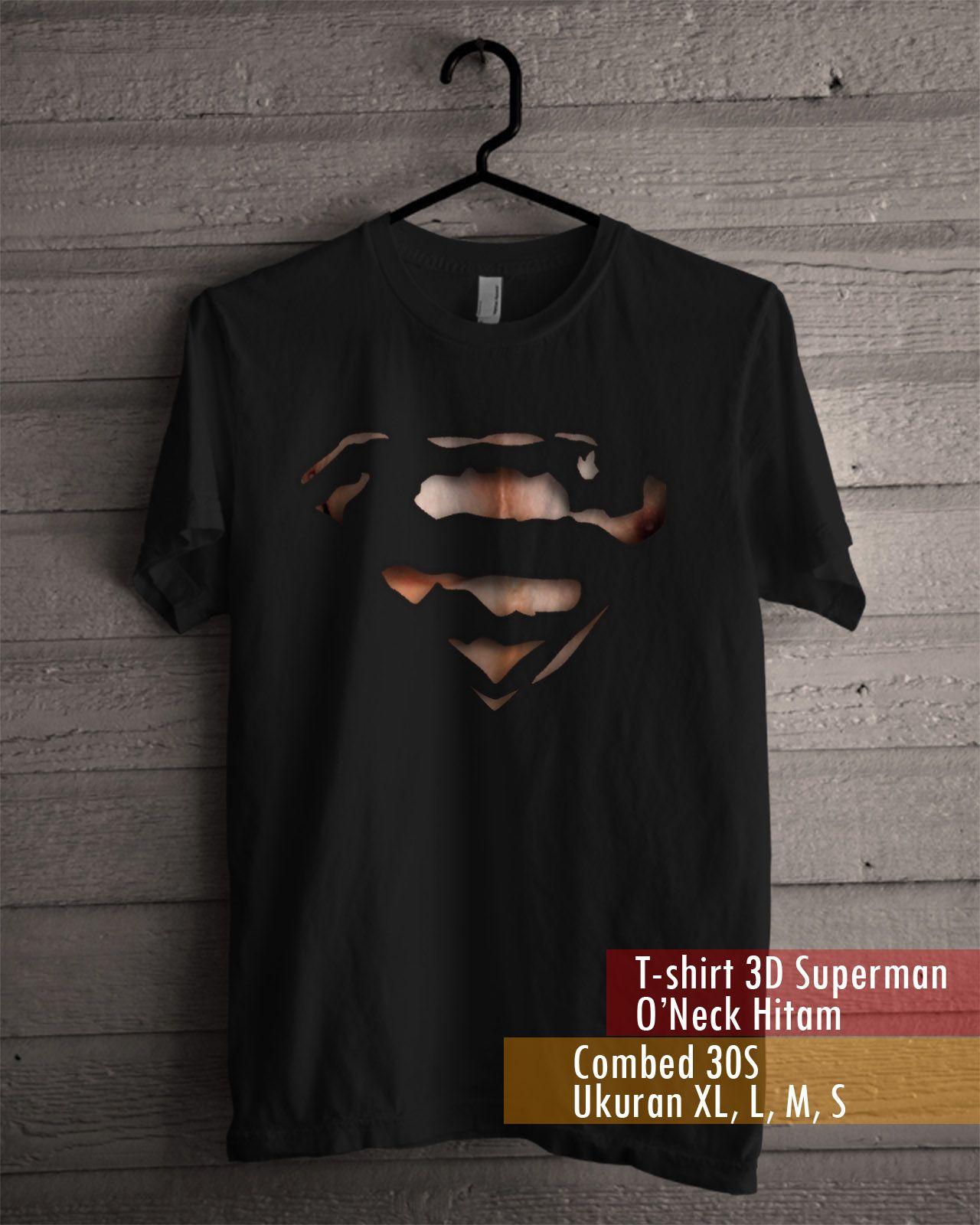T Shirt 3d Superman Mockup Pinterest Shirts Tendencies Tshirt Ny Life Hitam L