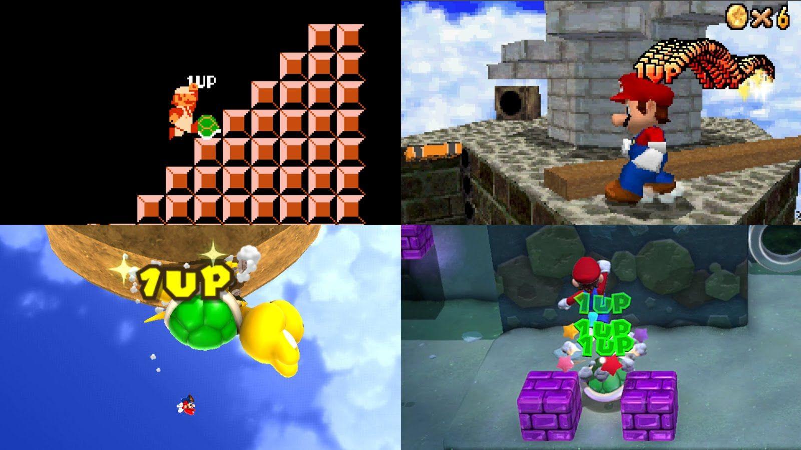 Evolution of the Infinite Lives Trick in Mario games | Super Mario