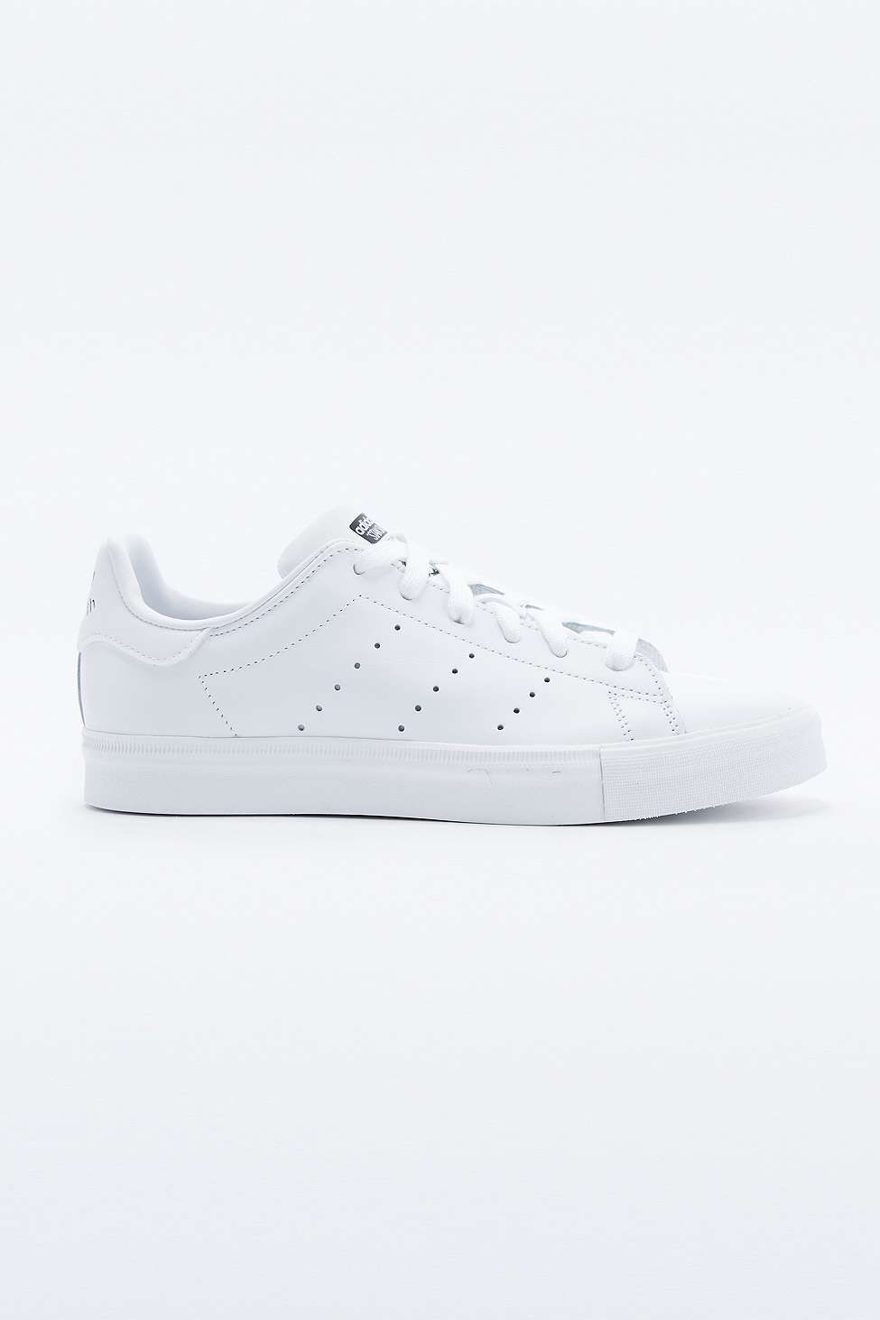 adidas Originals Stan Smith All White Trainers - Urban Outfitters