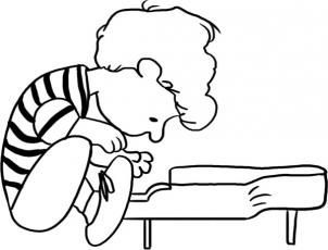 Pin by The Peanuts Gang on THE SCHROEDER | Doodle coloring ...