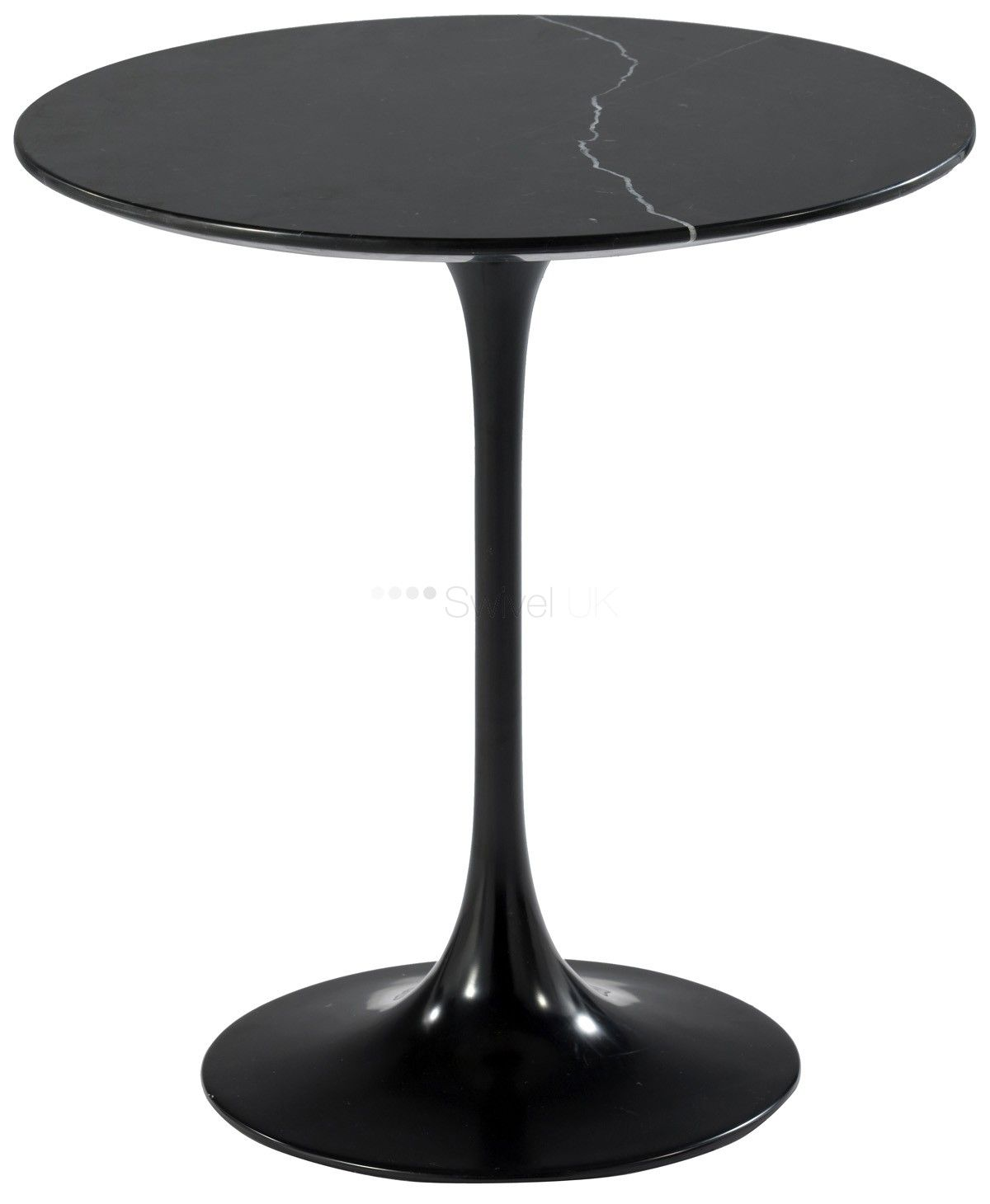 Black side table round - Black Side Table Round 5