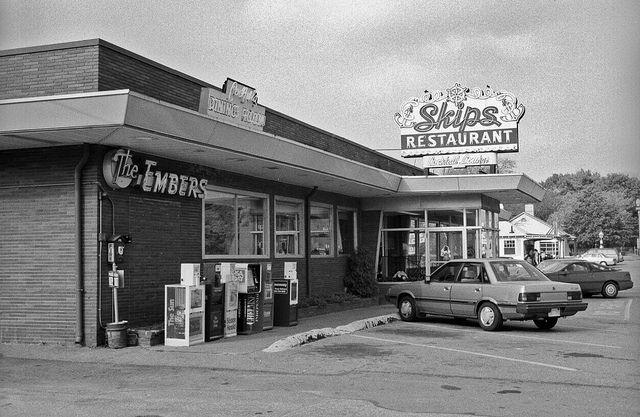 Skip S Restaurant Chelmsford Ma By Mod Betty Retroroadmap Via Flickr